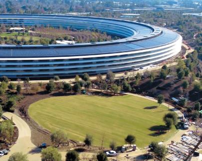 カリフォルニア州 Apple新社屋